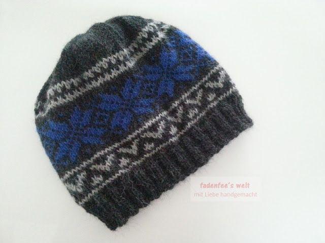 Basic Norwegian Star Hat anthrazit grau stahlblau 1  bc77ce57270