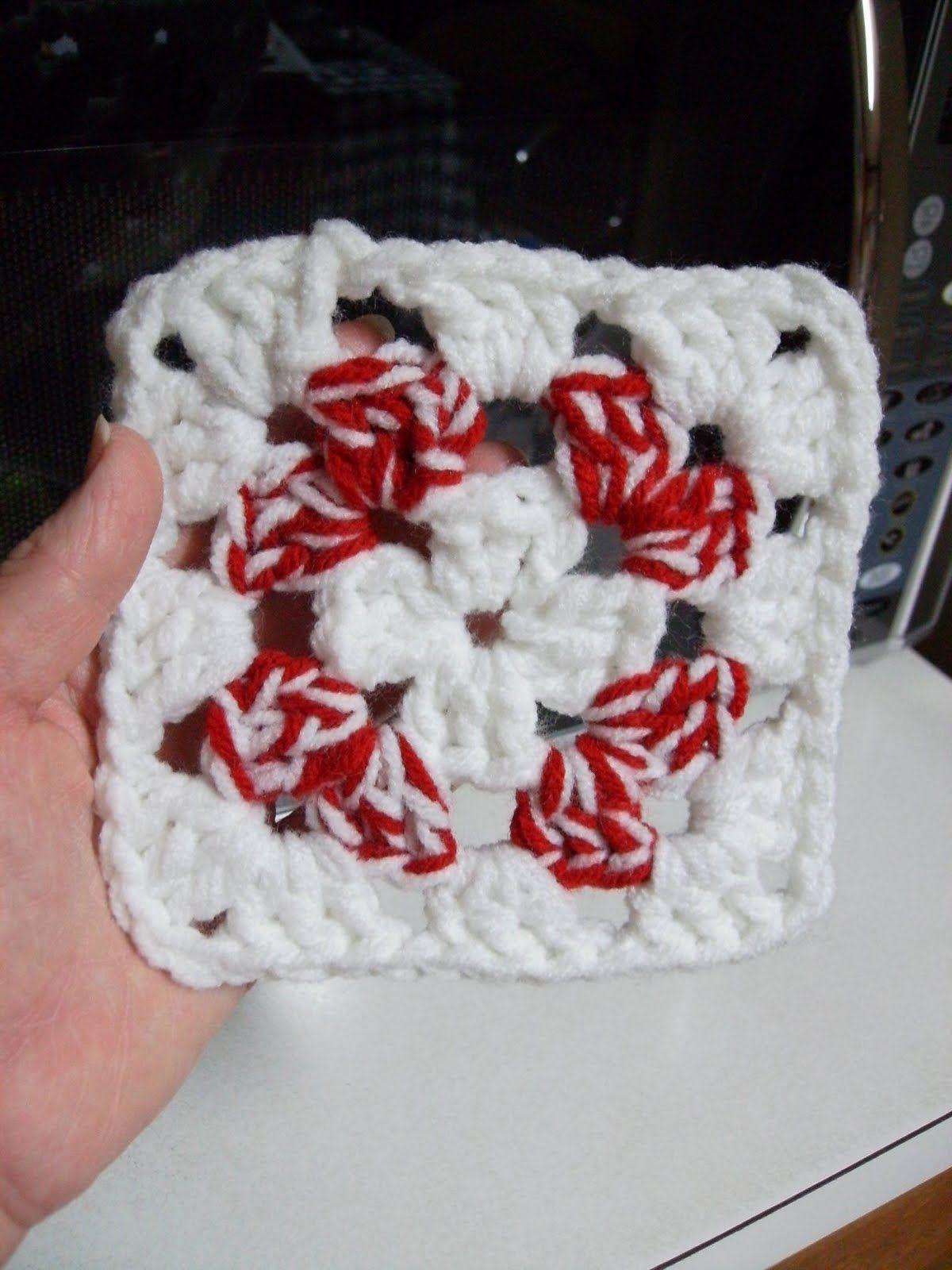Free peppermint swirl square crochet pattern crochet squares free peppermint swirl square crochet pattern bankloansurffo Gallery