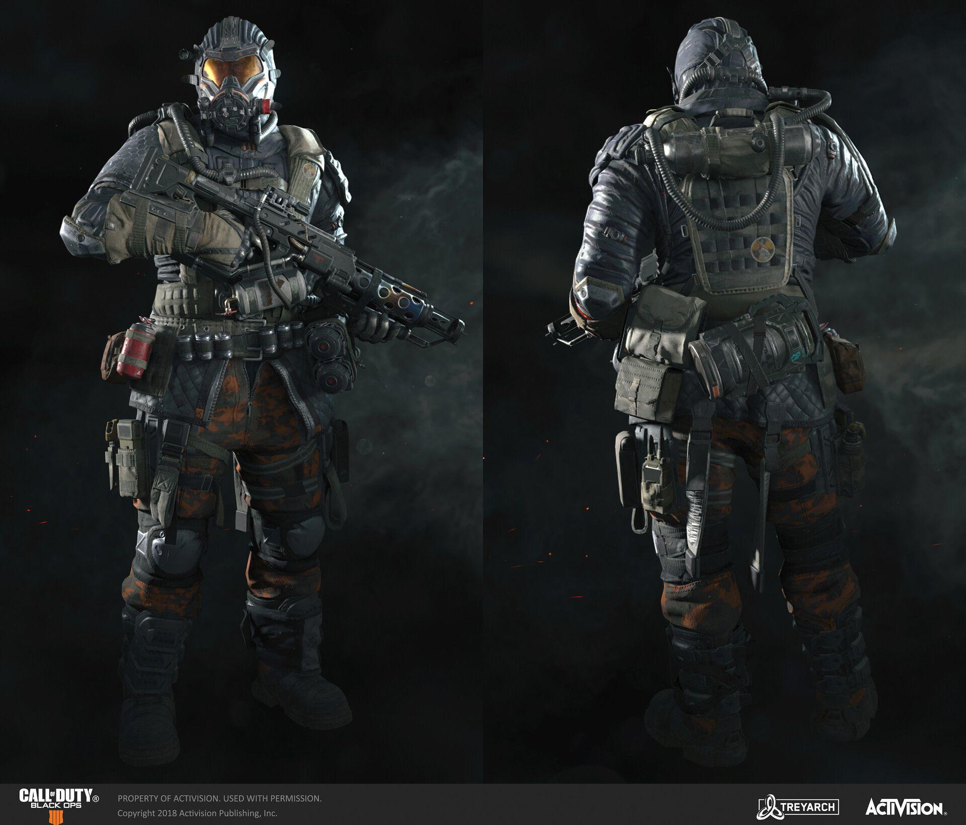 Artstation Call Of Duty Black Ops 4 Firebreak Brandon Bennett Call Of Duty Black Ops 4 Soldier Concept