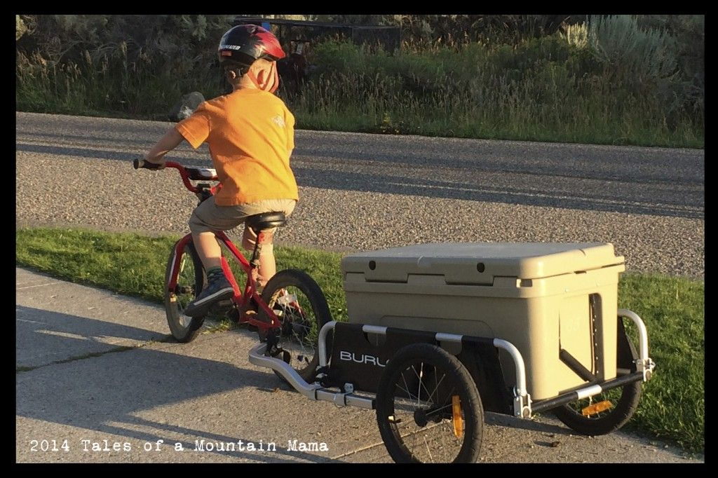 Burley Flatbed Cargo Trailer Review