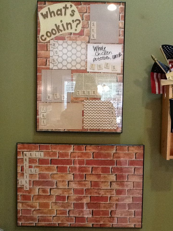5 11x17 Frames And Dry Erase Markers From Walmart Scrapbooking Materials Including Brick Background Pa Scrapbook Materials Paper Background Brick Background