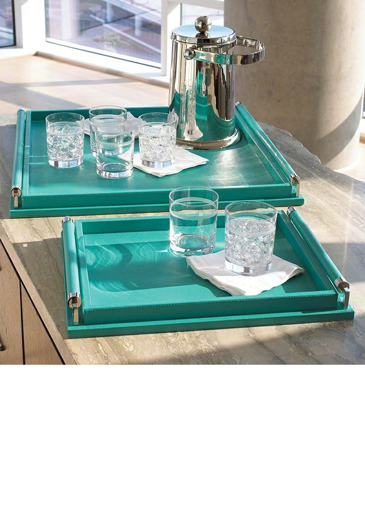 Superieur Turquoise Serving Trays For Ottomans | Serving Trays, Drinks Trays,  Cocktail Trays, Breakfast Trays, Ottoman .