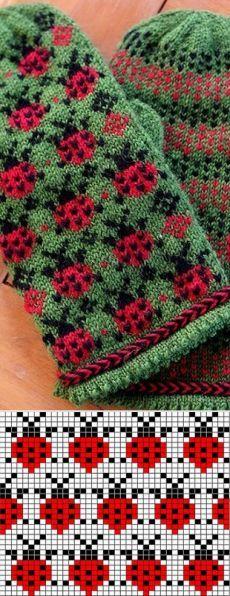 Photo of Modell Marienkäfer  #knittingmodelideas #marienkafer #modell