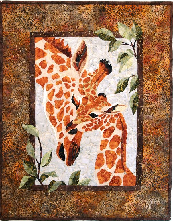 Giraffe Baby Quilt, pattern from Zirafah by Toni Whitney. Reminds ... : giraffe baby quilt pattern - Adamdwight.com