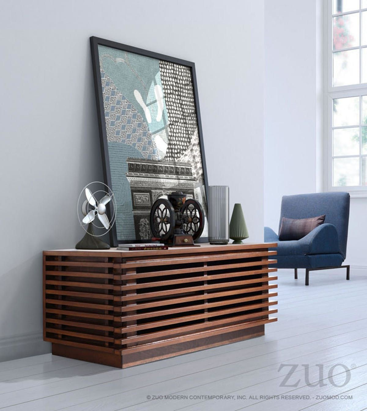 Zuo Linea Narrow TV Stand   Pinterest   Narrow tv stand, Tv stands on