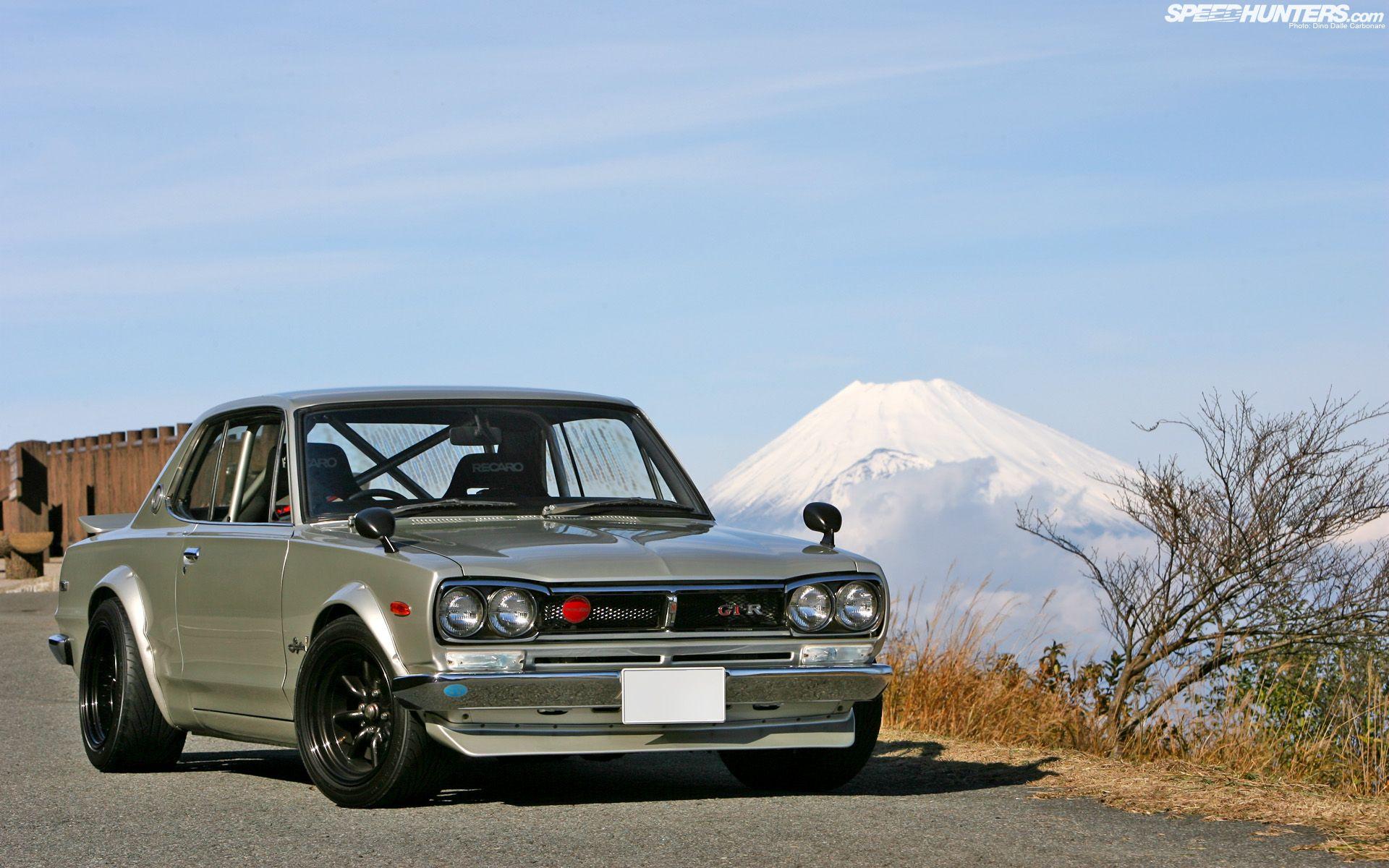 Nissan kpgc10 skyline gt r nissan pinterest skyline gt jdm japanese domestic market japan mount fuji nissan nissan skyline gt r wallpaper vanachro Choice Image