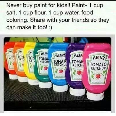 Paint homemade