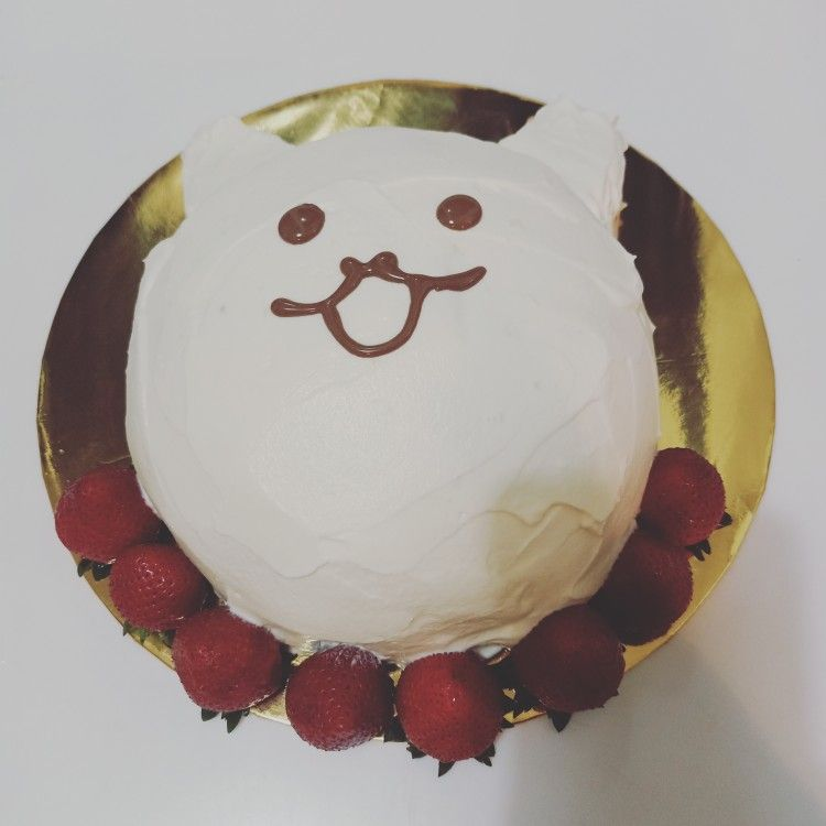 にゃんこ大戦争 ケーキ キャラケーキ 誕生日ケーキ ケーキ