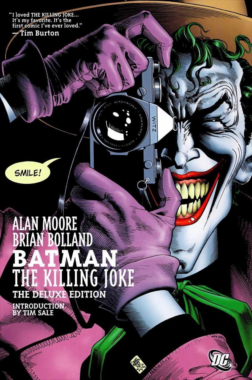 Comics] Batman: The Killing Joke (The Deluxe Edition) Descargar ...