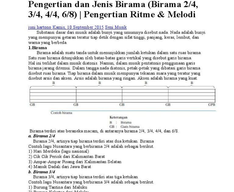 Birama Hari Merdeka Adalah Pengertian Dan Jenis Birama Download Lagu Hari Merdeka Birama Kumpulan Gambar Download Mem Music Sheet Music Periodic Table