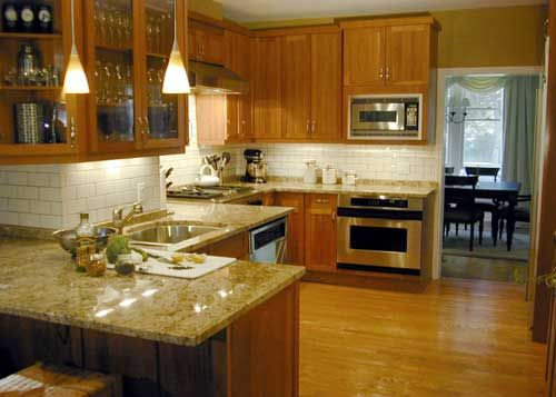 Chicago Kitchen Design  Kitchen Lab  Natural Cherry Cabinets Extraordinary Chicago Kitchen Design Design Decoration