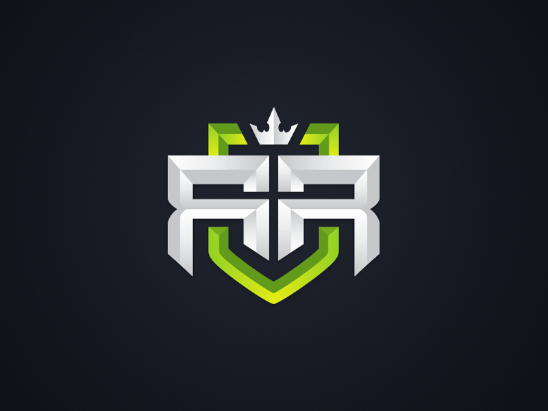 Royal Recker 'RR' Logo Design Rr logo, Game logo