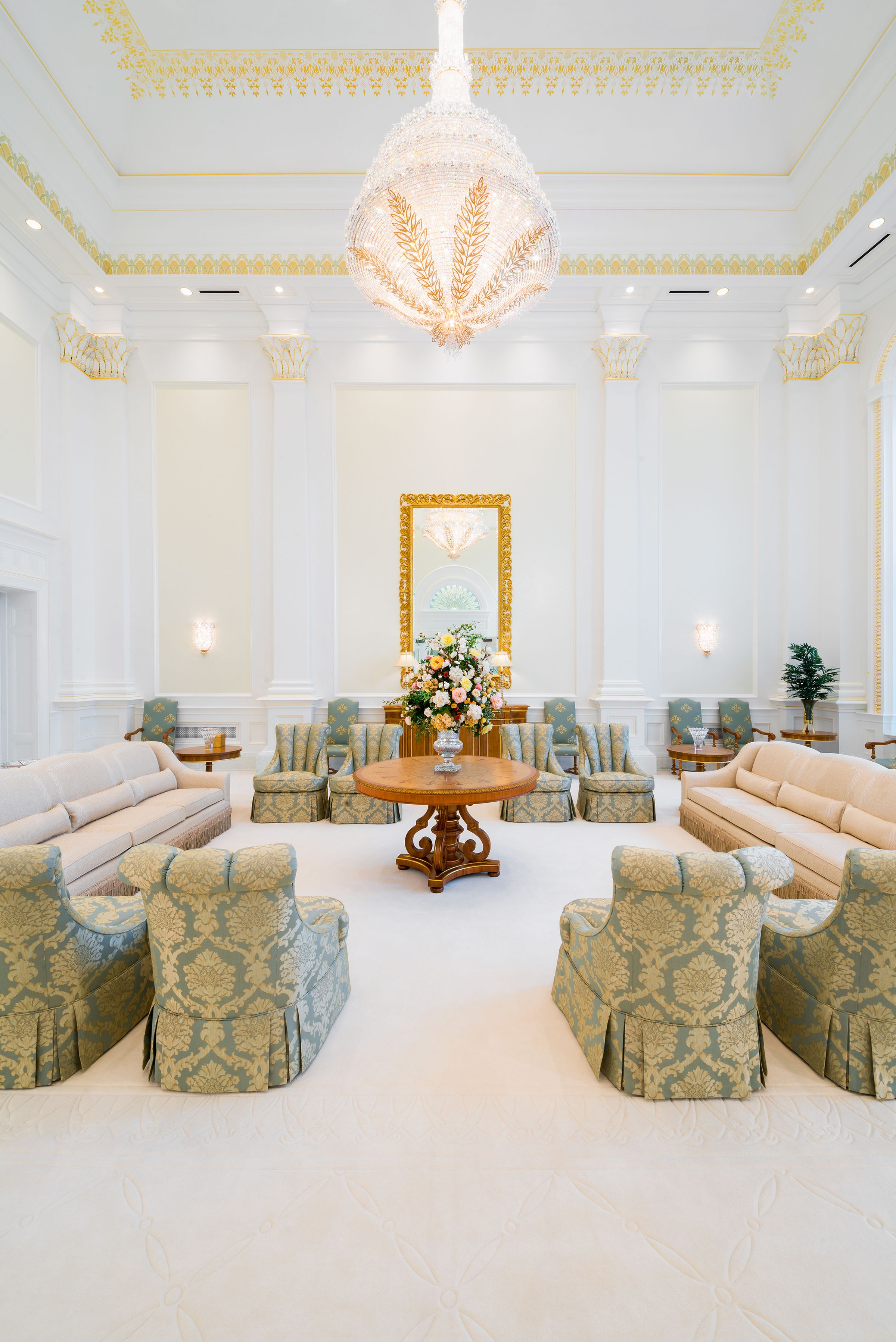 Ft. Lauderdale Temple Celestial Room | LDS Temples | Pinterest ...
