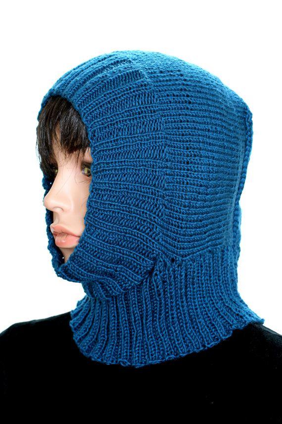 Knitted Helmet Pattern, Knitted Winter Cap Pattern, Ski Mask ...