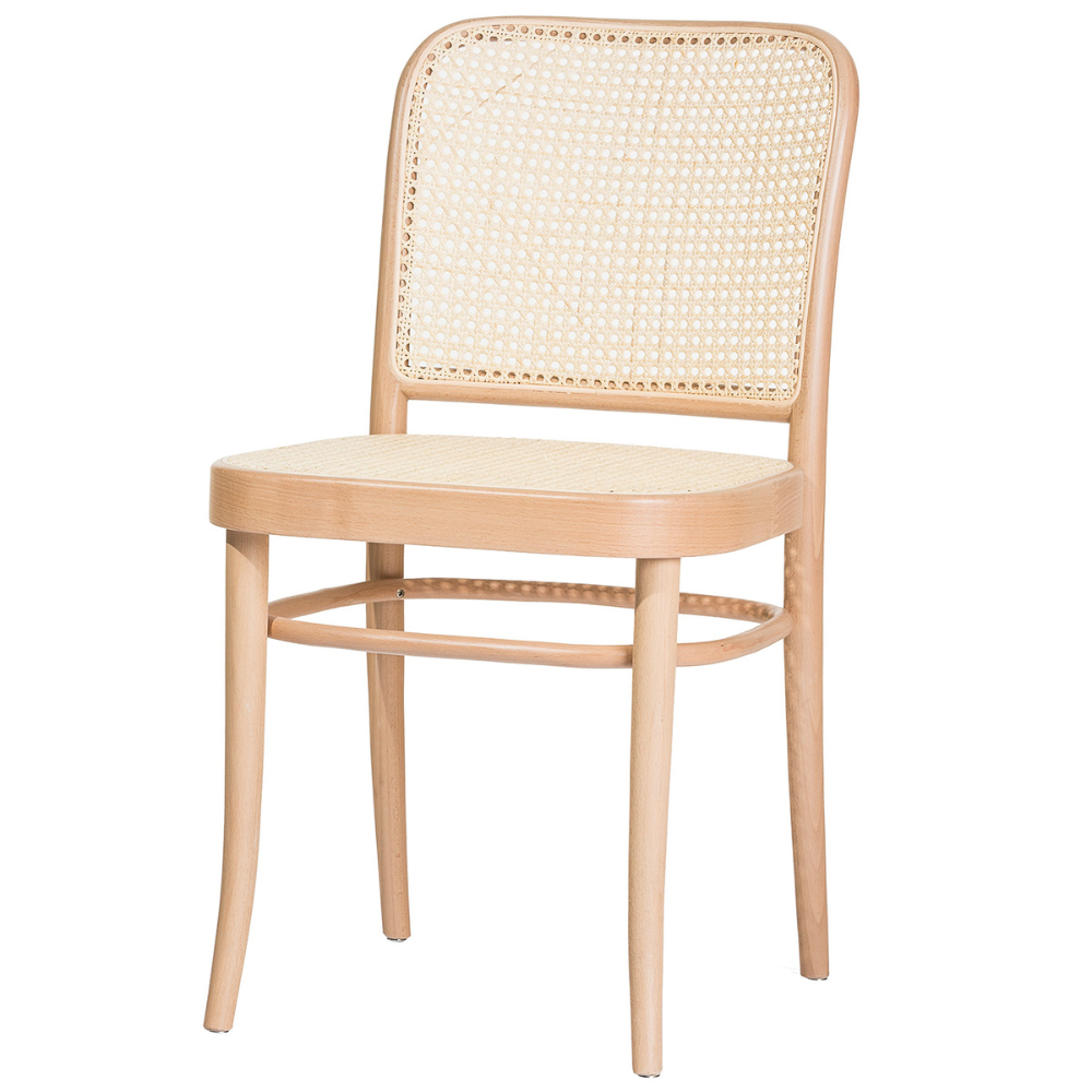 Chair 811 Rattan Beech In 2020 Ton Chair Chair Design Wooden Solid Wood Dining Chairs