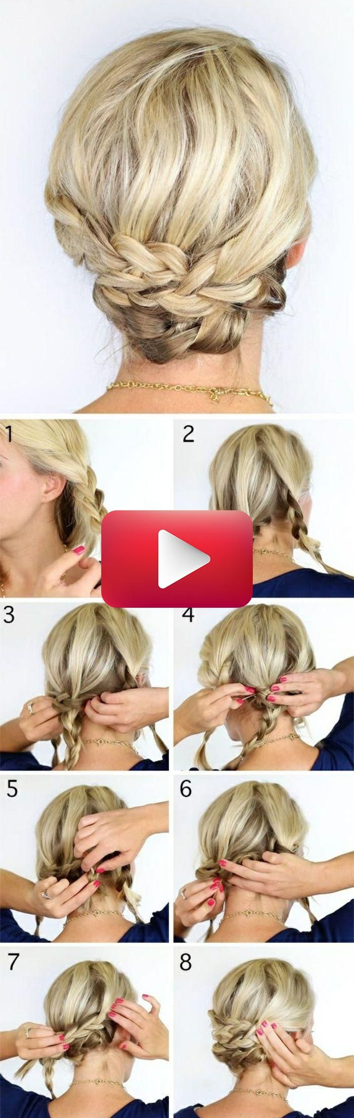 1001 Ideen Und Anleitungen Wie Sie Flechtfrisuren Selber Machen Konnen Hair Styl In 2020 Flechtfrisuren Geflochtene Frisuren Geflochtene Frisuren Fur Kurze Haare
