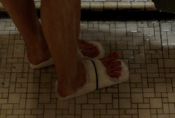 Shower Shoes Jail