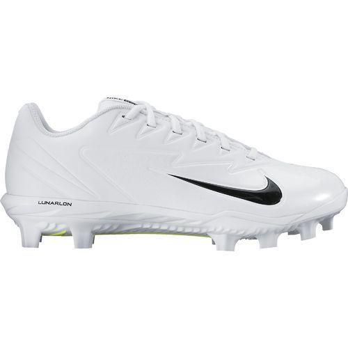 Nike Men\u0027s Vapor Ultrafly Pro MCS Baseball Cleats (White/Racer Blue, Size  14) - Adult Baseball Shoes at Academy Sports