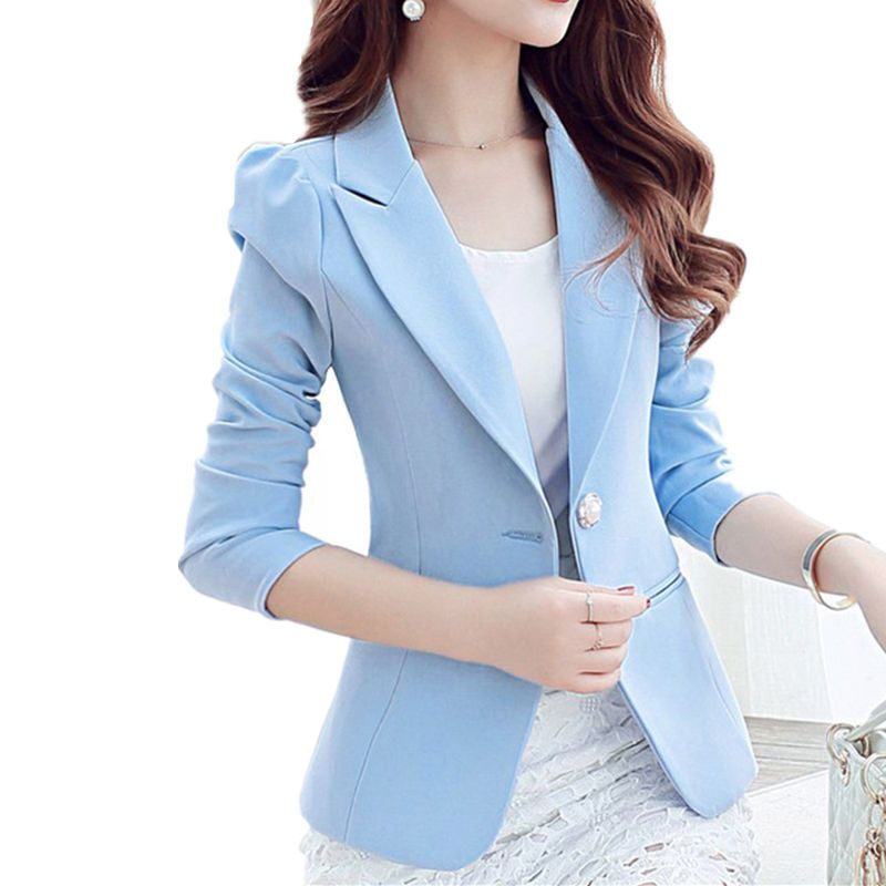 d231efd298f Cheap female blazers, Buy Quality small suit jacket directly from China  blazer feminino Suppliers: NEW Women Basic Coats Candy Colors Small Suit  Jacket ...