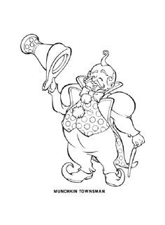 wizard of oz characters coloring pages google search