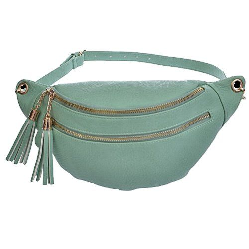 Tassels Women`s Fashion Fanny or Waist Pack - fits up to 40 inch waist - List price: $50.00 Price: $29.95 Saving: $20.05 (40%)