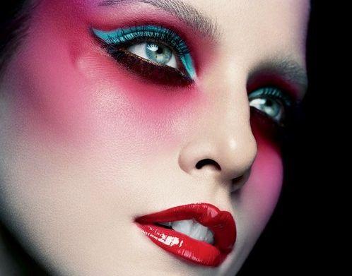 make-up de alta costura