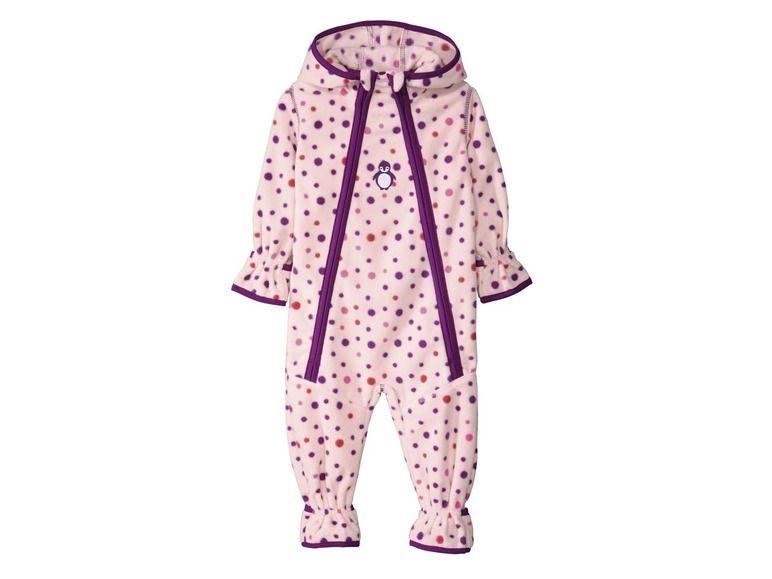 suchen heiß-verkaufender Beamter größter Rabatt LUPILU® Baby fleece-overall online kopen | LIDL | Baby One ...