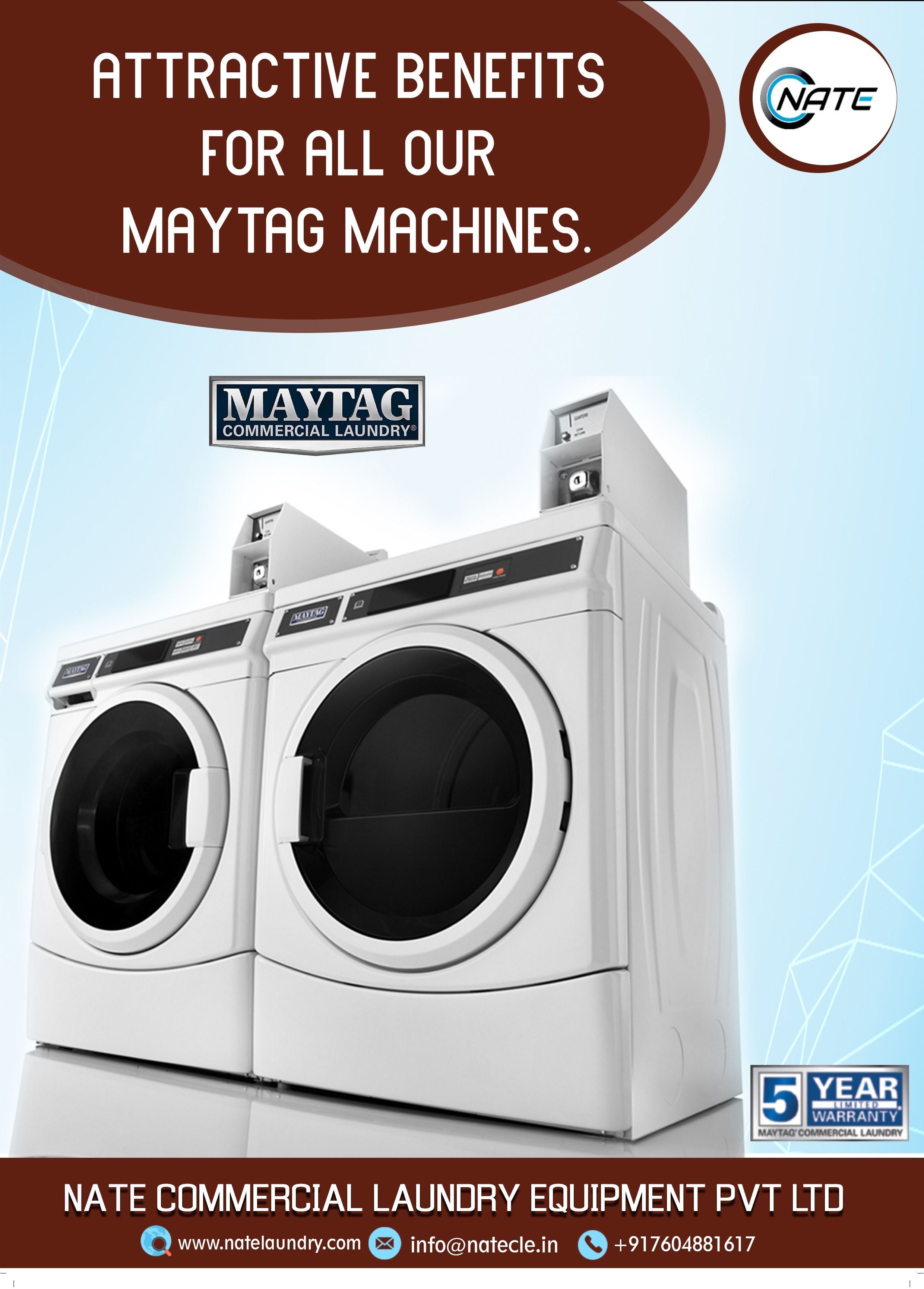 Nate Commercial Laundry Equipment Sale Call Us 91 76048