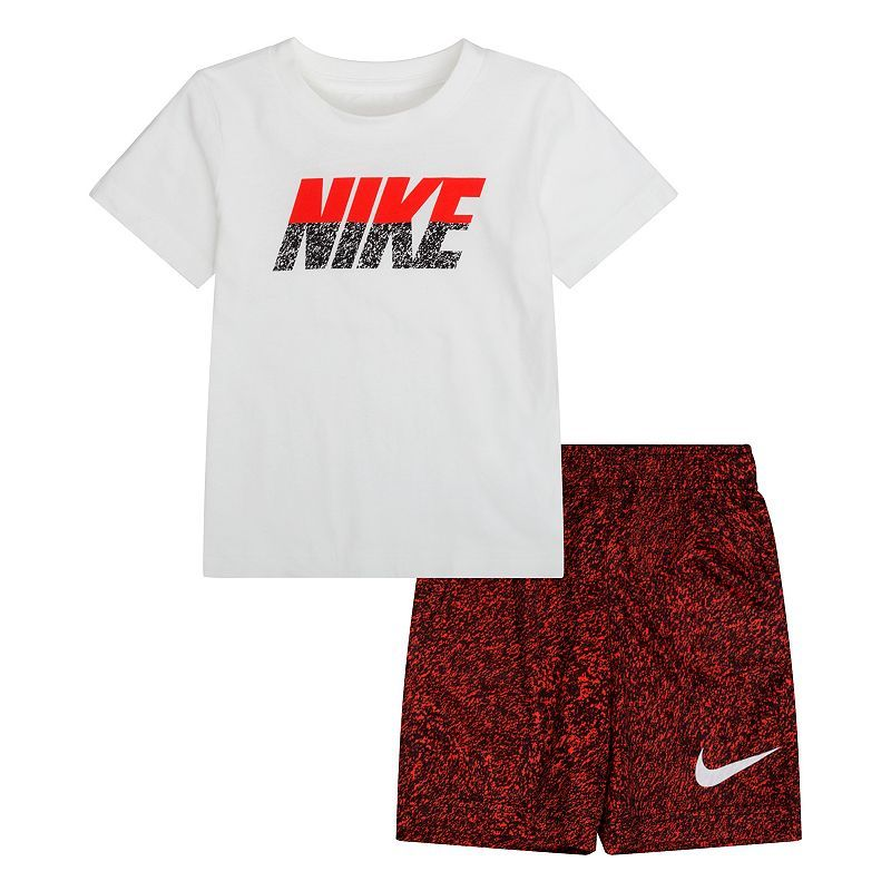 7d8029082513 Boys 4-7 Nike Graphic Tee & Shorts Set   Products   Baby boy nike ...
