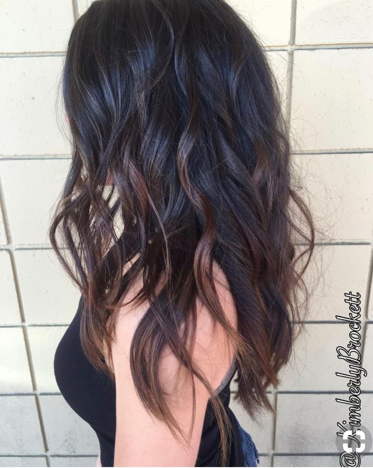 Pin By Jenny Kaiser On Hair Hair Styles Balayage Hair Long Layered Hair
