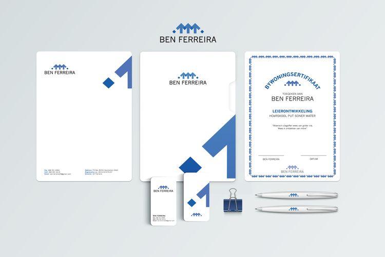 Ben Ferreira Corporate Identity | CORPORATE IDENTITY by Essence design studio