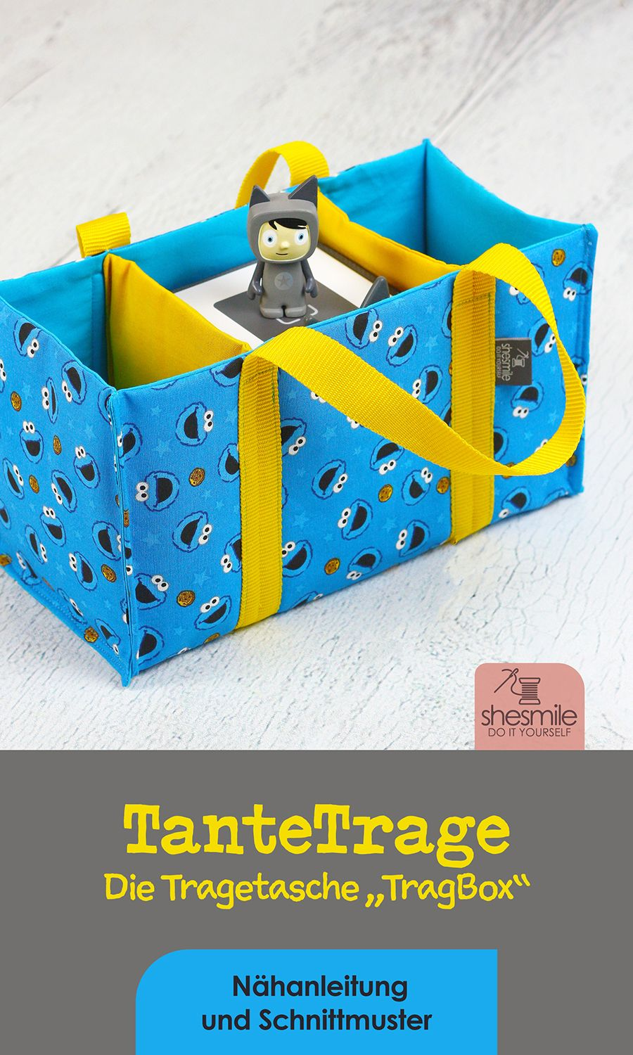 Photo of A carrying case for my godchildren's tonie box