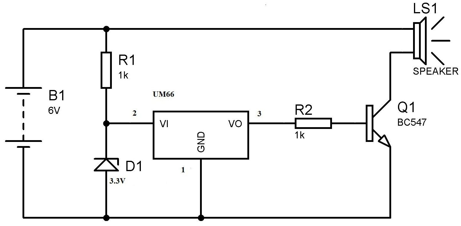 musicalbell u202c circuit is a mechanical bell that functions