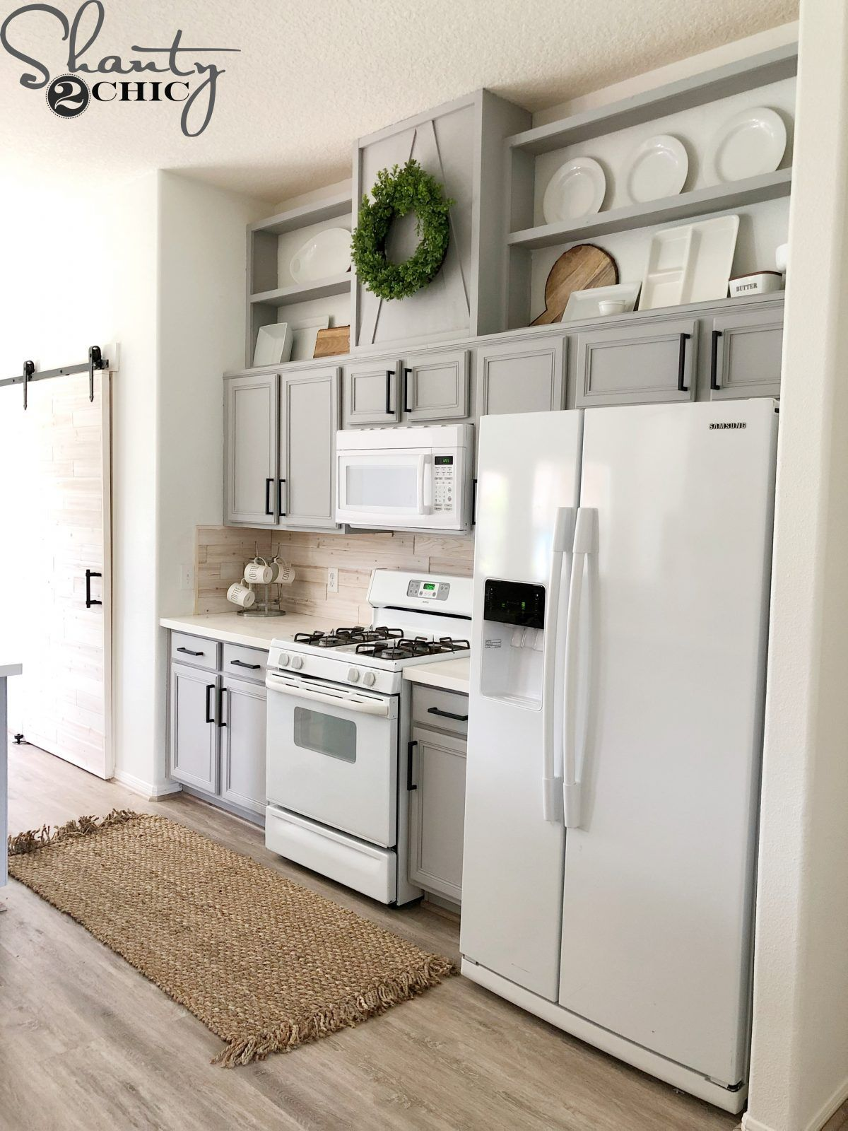 How to Make Cabinets Taller | Kitchens | Kitchen cabinets ...