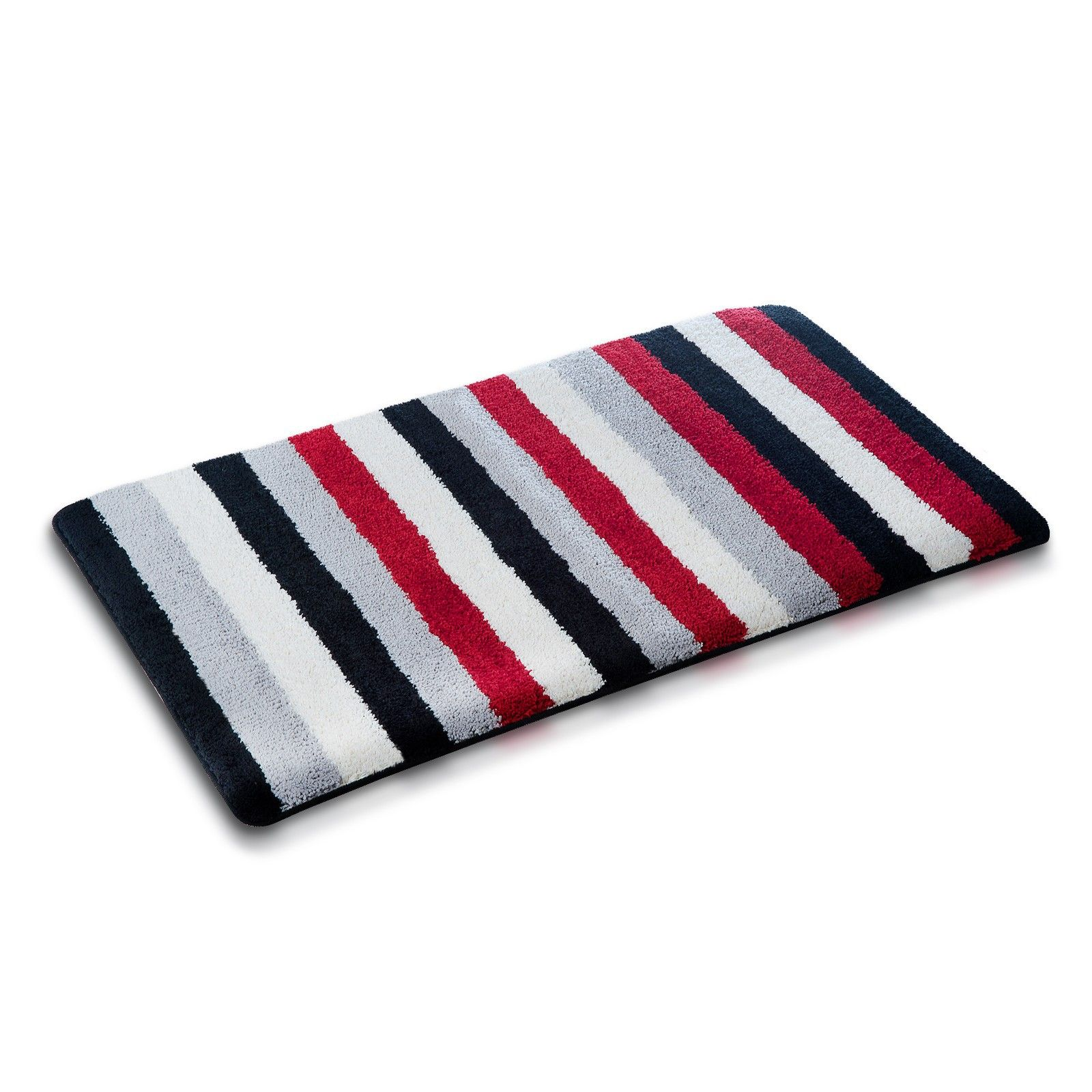 Fluffy Rugs The Striped Pattern Together With The Trendy Color