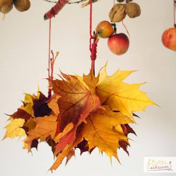 Herbstmobilee - Frau Scheiner