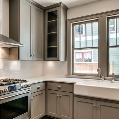 River Reflections Design Ideas Pictures Remodel And Decor Home Kitchens Kitchen Remodel Grey Kitchen Designs