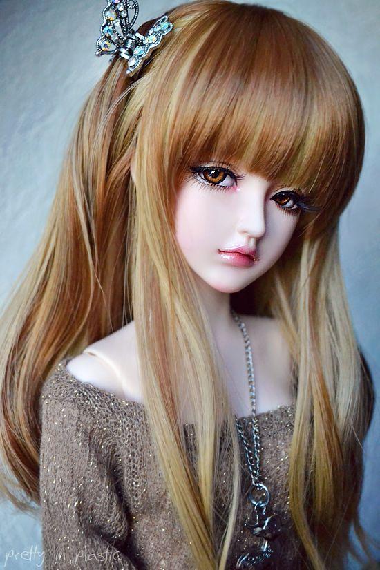 bjd #dolls #: (With images)   Beautiful dolls, Beautiful barbie dolls