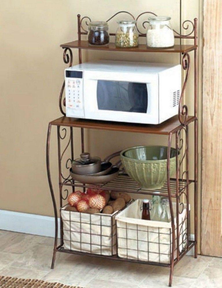 40 Awesome Contemporary Micro Apartment Organized With Boxes Kitchen Storage Shelves Kitchen Shelves Basket Shelves