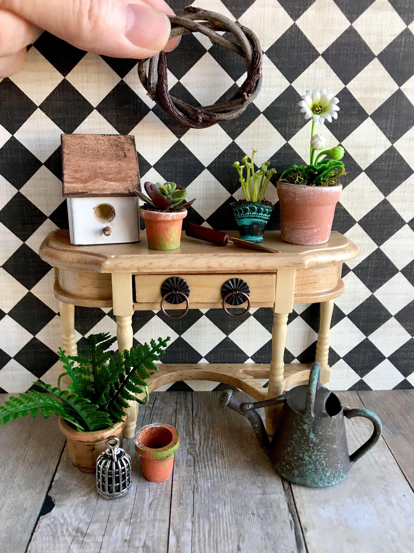 Miniatur-Garten, blythe Puppenhaus Zubehör fairy garden decor #dollhouseaccessories