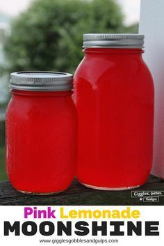 Diy Homemade Pink Lemonade Flavored Moonshine Recipe Featuring Everclear Plus A Tail