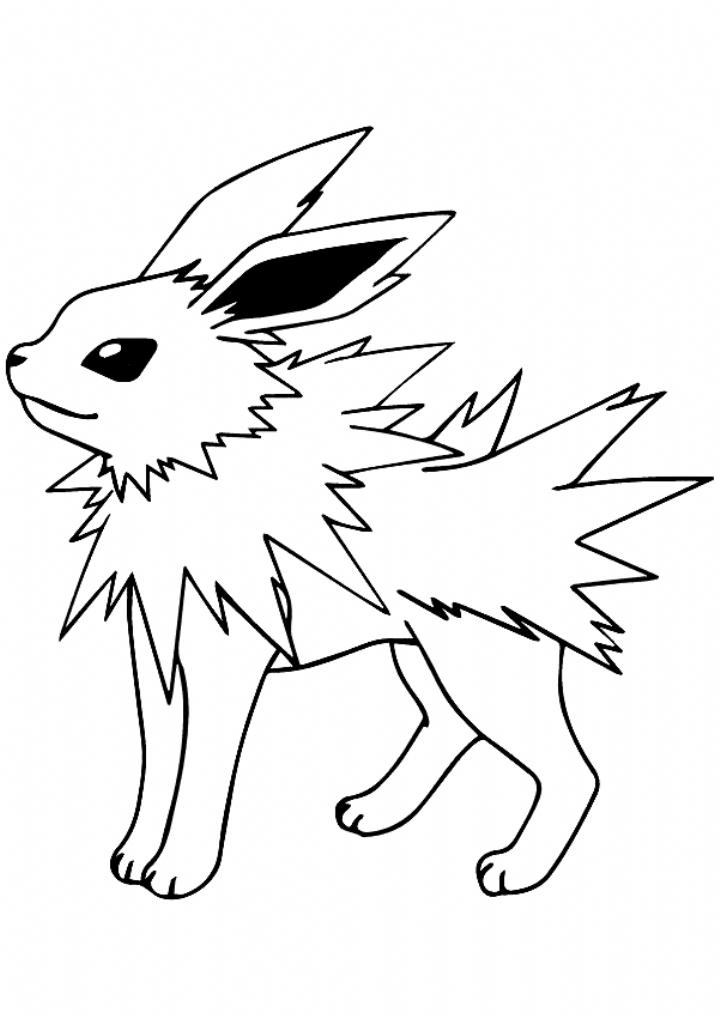 Jolteon Coloring Pages Pokemon Coloring Pokemon Coloring Sheets Pokemon Coloring Pages