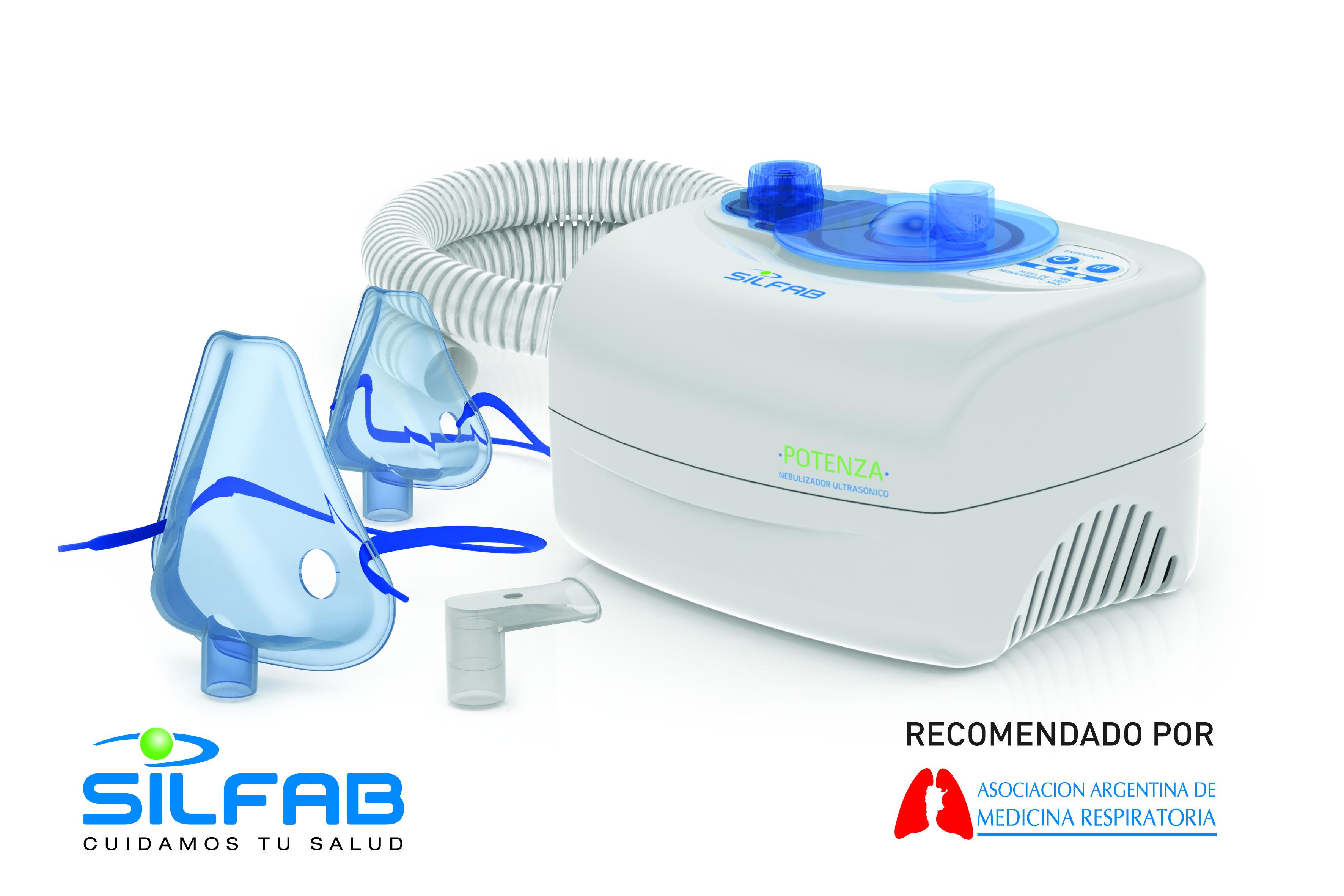Nebulizador Ultrasonico Potenza N68 Tratamiento Medico