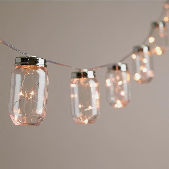 Deal Of The Day 50 Off World Market Mason Jar String Lights Inspiring Outdoor Spaces Battery Operated String Lights Christmas Fairy Lights String Light