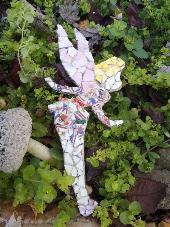 Whimsical Mosaic Fairy