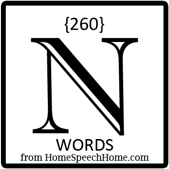 N words, phrases, sentences, and reading passages for