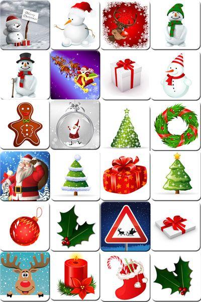 Memory De Navidad Para Imprimir Juegos De Mesa Pinterest