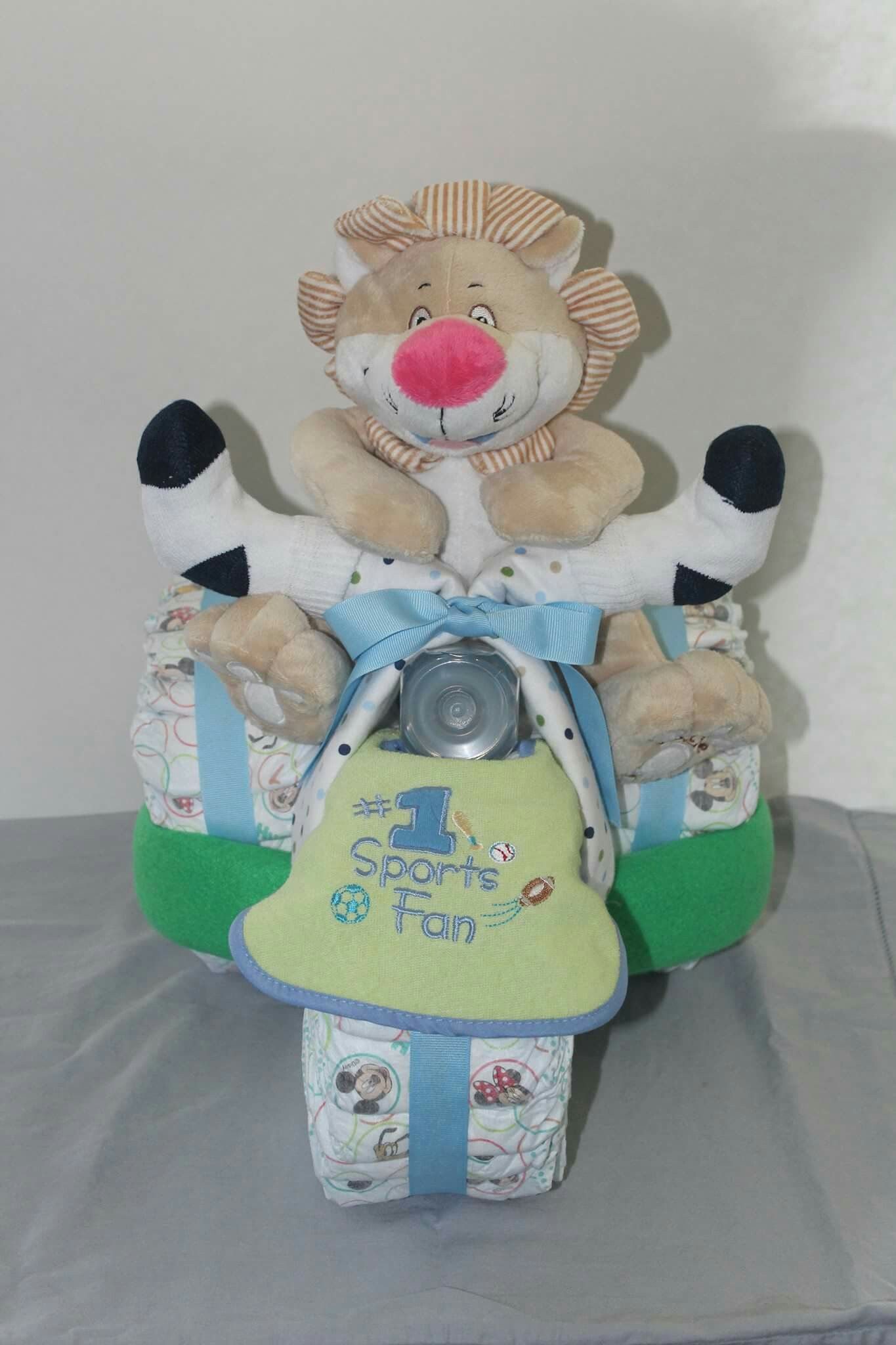 Boys tricycle diaper cake tricycle diaper cakes baby