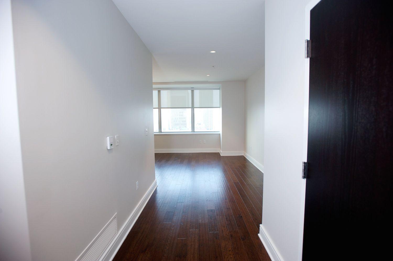 Hallway into our 680 sq/ft Luxury loft