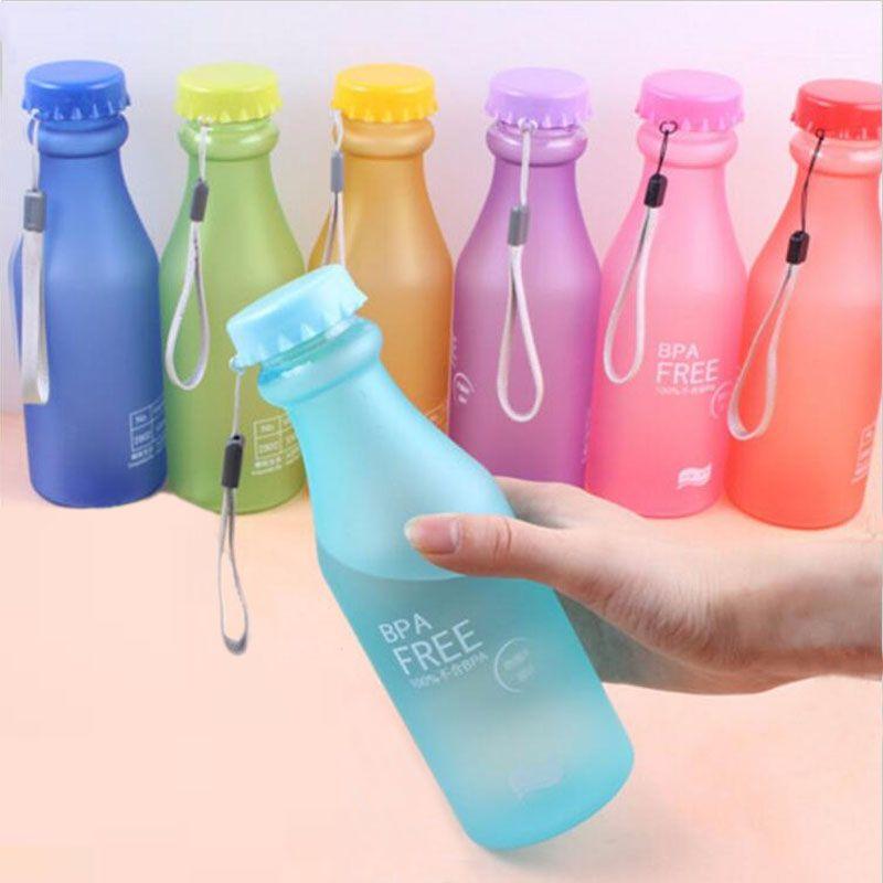 500ml bpa free portable water bottle leakproof plastic kettle for travel bu